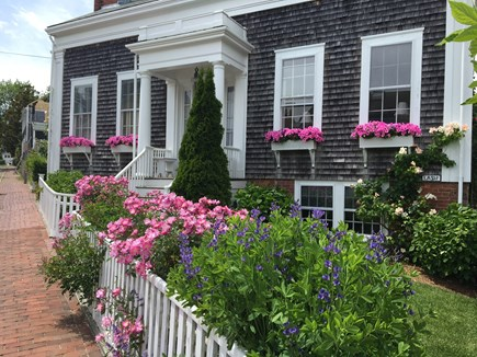Nantucket town Nantucket vacation rental - Front of Our Greek Rival home  - The 1846 House2 blocks to town