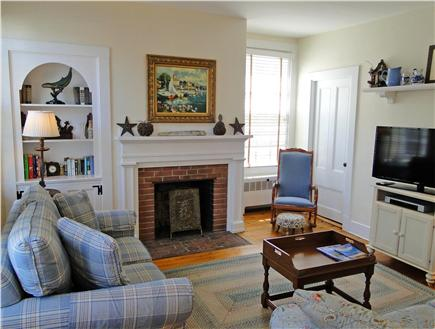 Nantucket town Nantucket vacation rental - Comfortable den with High Def TV/DVD