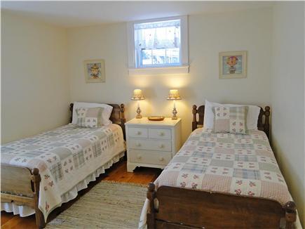 Nantucket town Nantucket vacation rental - Twin Bedroom (second similar twin bedroom not shown)