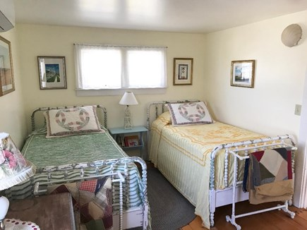 Nantucket town Nantucket vacation rental - Second cozy upstairs bedroom with twin beds
