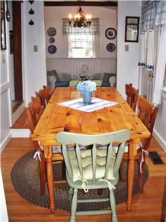 Nantucket town Nantucket vacation rental - Cheerful dining room with adjacent sitting room