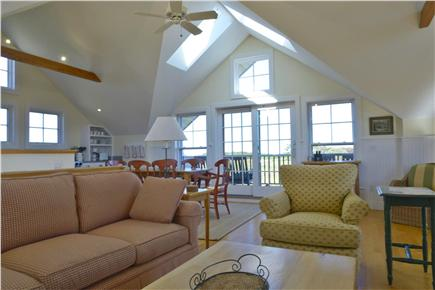 Quidnet Nantucket vacation rental - Living Area