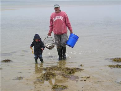 Polpis, Nantucket Nantucket vacation rental - Clamming
