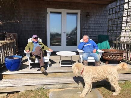 Polpis, Nantucket Nantucket vacation rental - Rear Lower Porch