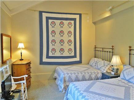 Nantucket town Nantucket vacation rental - Large Bedroom with two doubles, shared bath