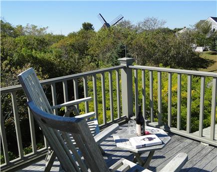 Nantucket town Nantucket vacation rental - Lovely, relaxing Widow's Walk with seating and views of Old Mill