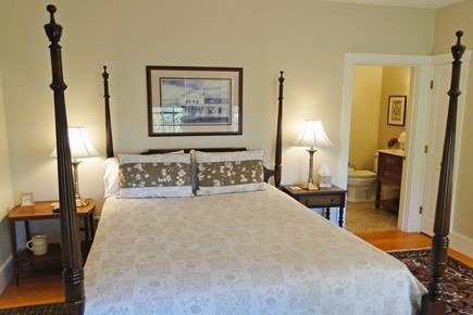 Nantucket town Nantucket vacation rental - Second queen master with ensuite bath and separate sitting room
