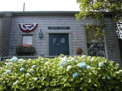 Nantucket town Nantucket vacation rental - Closer view of cottage