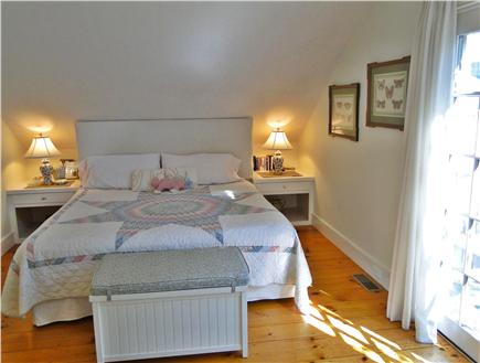 Nantucket town Nantucket vacation rental - Bedroom opens to lovely patio area