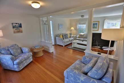 Brant Point Nantucket vacation rental - Spacious 2 room living area with flat screen TV