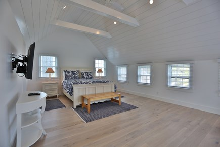 Brant Point Nantucket vacation rental - Master Bedroom Suite with vaulted ceiling and walk-in closet