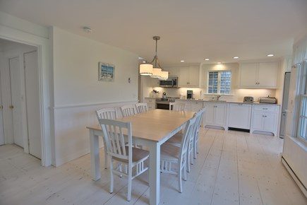 Brant Point Nantucket vacation rental - New kitchen with large dining area