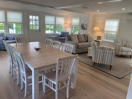 Brant Point Nantucket vacation rental - Dining area/living room