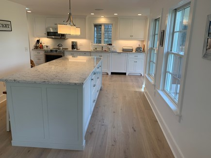 Brant Point Nantucket vacation rental - Kitchen with large island