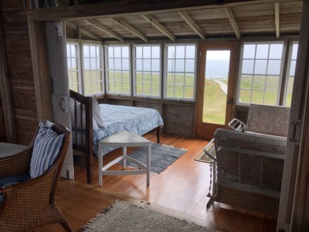 Madequecham Nantucket vacation rental - 3 sided enclosed porch.