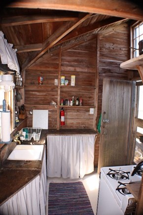 Madequecham Nantucket vacation rental - Galley kitchen.