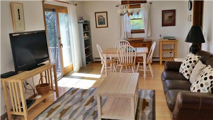 Surfside Nantucket Nantucket vacation rental - Looking into dining room from living room. Slider towards ocean.