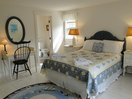 Mid-island, Naushop Nantucket vacation rental - Upstairs master with queen bed, private bath