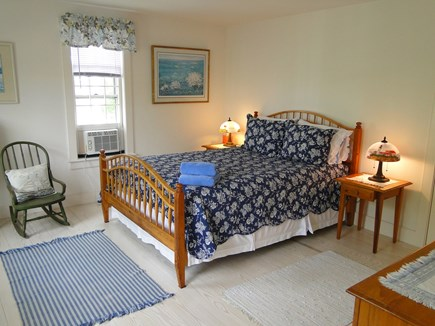 Mid-island, Naushop Nantucket vacation rental - Upstairs queen bedroom, the blue bedroom