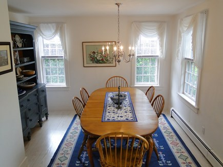 Mid-island, Naushop Nantucket vacation rental - Lovely dining room off of the living room