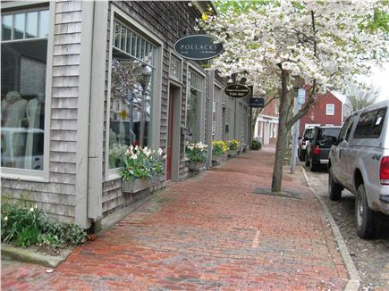 Nantucket town, Historic district in-town Nantucket vacation rental - Shops on S Water St - in town