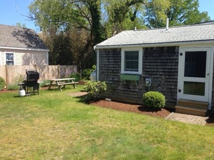 Nantucket town, Historic district in-town Nantucket vacation rental - Back yard