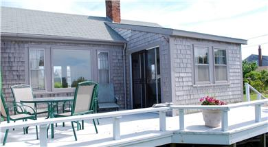 Madaket Nantucket vacation rental - Deck facing Hither Creek