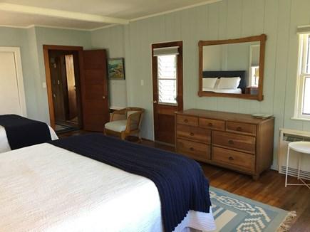 Madaket Nantucket vacation rental - Master bedroom to deck