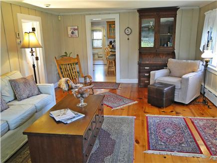 Madaket Nantucket vacation rental - Spacious living room in this true Nantucket style home