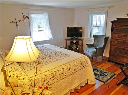 Madaket Nantucket vacation rental - Recently repainted king sized Master bedroom with private bath