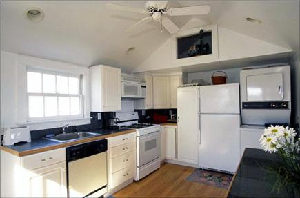 Nantucket town, Nantucket Nantucket vacation rental - Kitchen w/cathedral ceiling, marble counters, washer/dryer