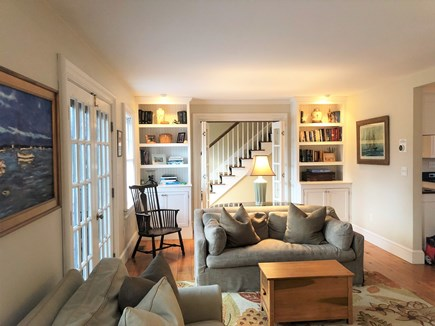 Tom Nevers / 'Sconset Nantucket vacation rental - Large living room with seating for 8