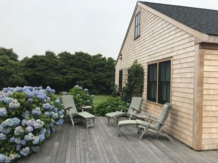 Tom Nevers / 'Sconset Nantucket vacation rental - West-facing deck with beautiful sunset views