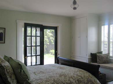 Tom Nevers / 'Sconset Nantucket vacation rental - Downstairs bedroom with window seat & private bath