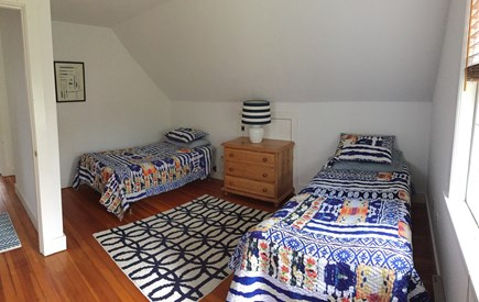 Cisco - Miacomet, Walk to Cisco Brewery, Bartlet Nantucket vacation rental - Second Bedroom with twin beds