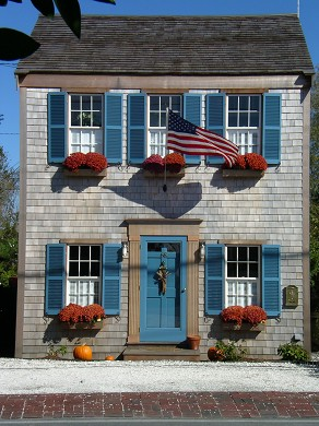 Nantucket Town Nantucket vacation rental - Front of house.