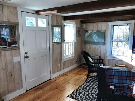 Nantucket Town Nantucket vacation rental - View of living room and front door
