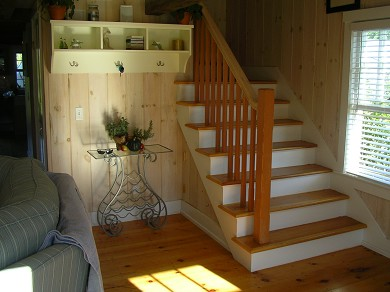Nantucket Town Nantucket vacation rental - View from front door towards stairs
