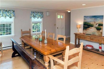 Tom Nevers East Nantucket vacation rental - Dining Room...BIG Table...Comfortable seating for 8.