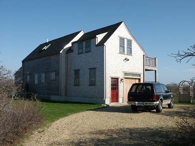 Tom Nevers Nantucket vacation rental - Front with off-street parking