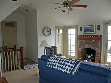 Tom Nevers Nantucket vacation rental - Family Room, 2nd Floor off Deck