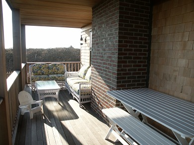 Tom Nevers Nantucket vacation rental - Porch with Wicker Furnniture