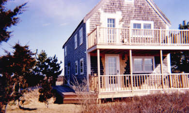 Dionis Nantucket vacation rental - West end, Guest House, in winter