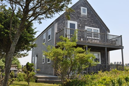 Dionis Nantucket vacation rental - Rainbow Moors with large upper deck and large front mahogany deck