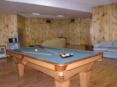 Nantucket town Nantucket vacation rental - Basement activities include 8' pool & pingpong table