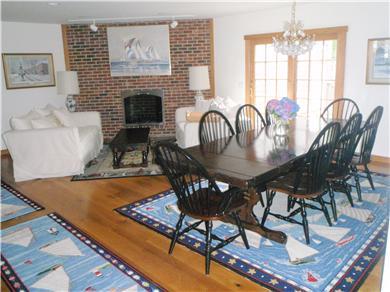 Nantucket town Nantucket vacation rental - Living - Dining