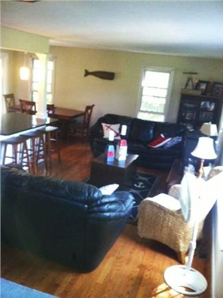 Mid-island, Naushop Nantucket vacation rental - Living Room