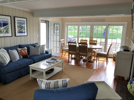 Tom Nevers, Nantucket Nantucket vacation rental - Living/Dining Area