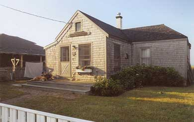 Surfside Nantucket Nantucket vacation rental - Front view of waterfront cottage ~ welcome!